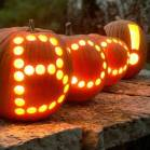 Boo pumpkins